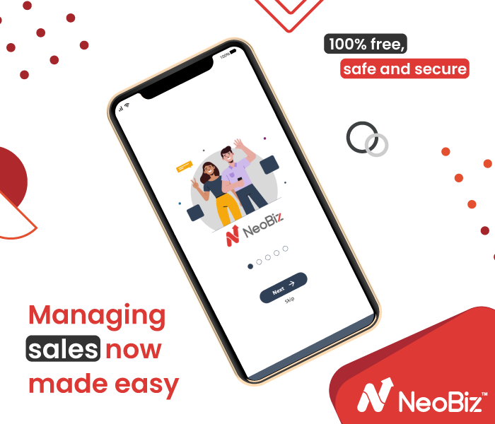 NeoBiz: Free, Simple and Secure Sales Management App for SMBs