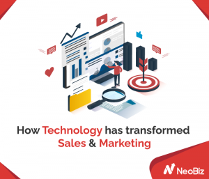 How technology has transformed sales and marketing
